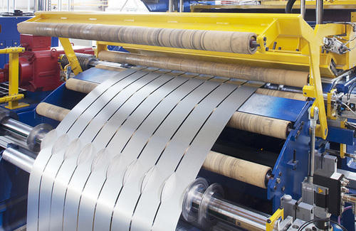 Slitting Line For Steel Cold Rolled Coils Slitting Line